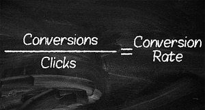 Conversion Rate Equation for PPC Metrics